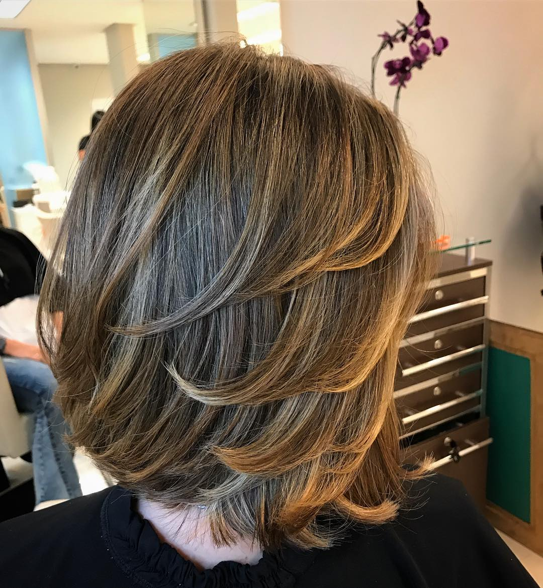 Layered Cut for Straight Hair