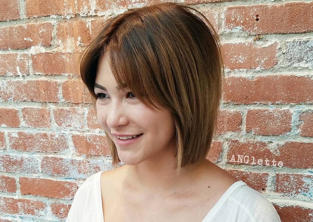 Caramel Brown Bob