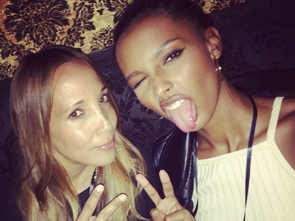 Cary Robinson and Jasmine Tookes