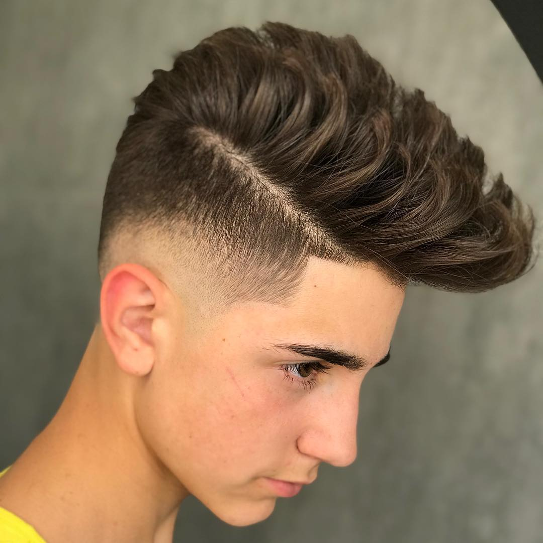 Mid Fade + High Top