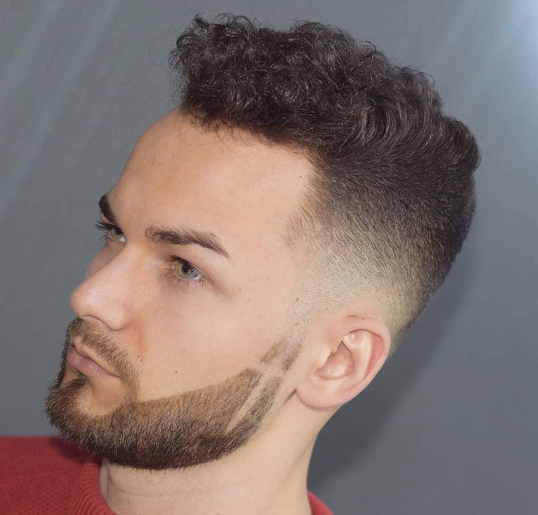 Curly + Beard Part