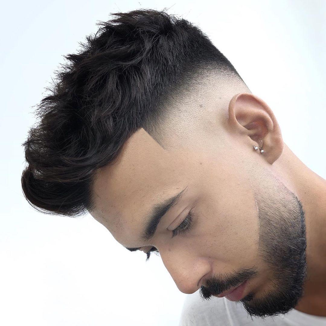 Drop Fade + Cool Beard