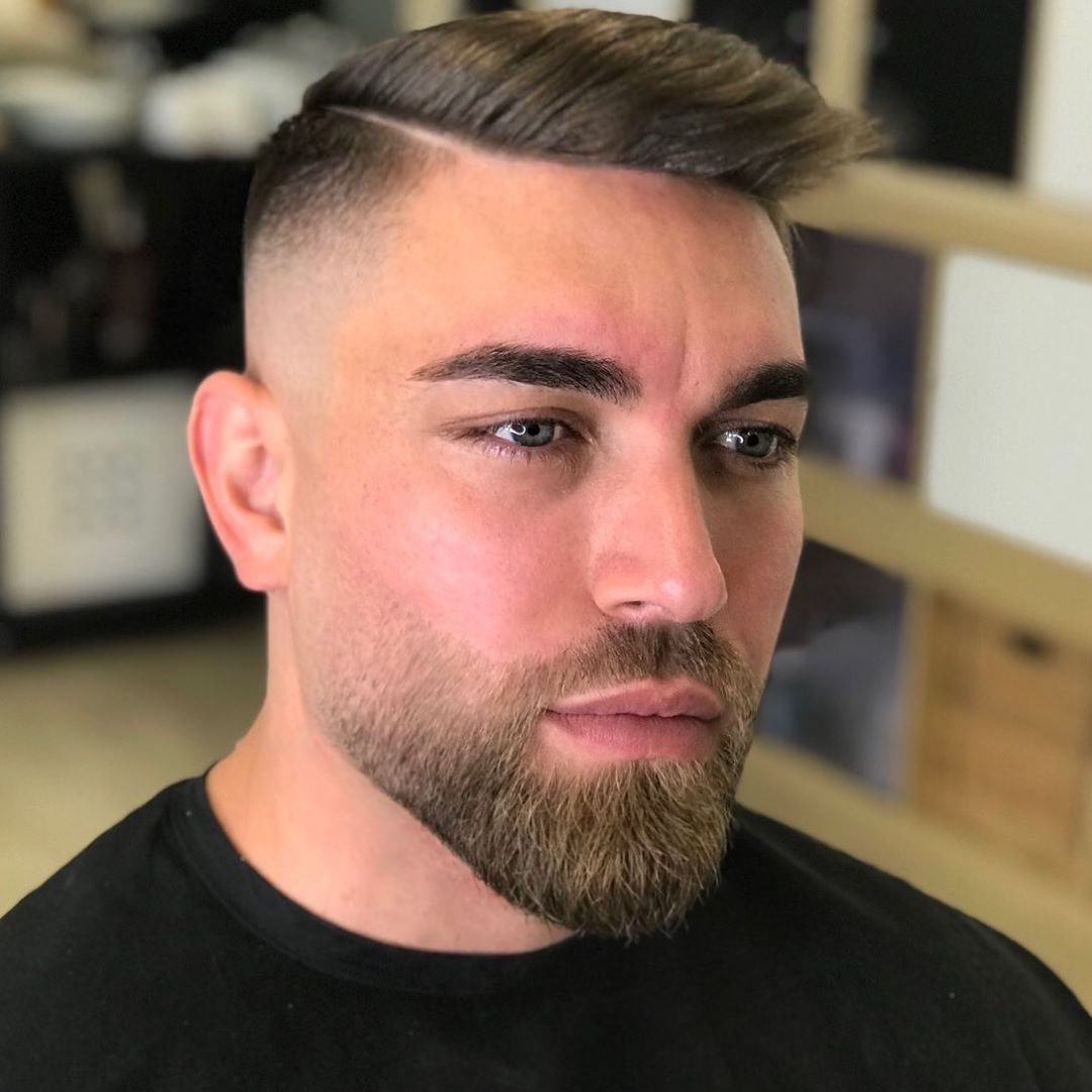 Side Part + High Fade