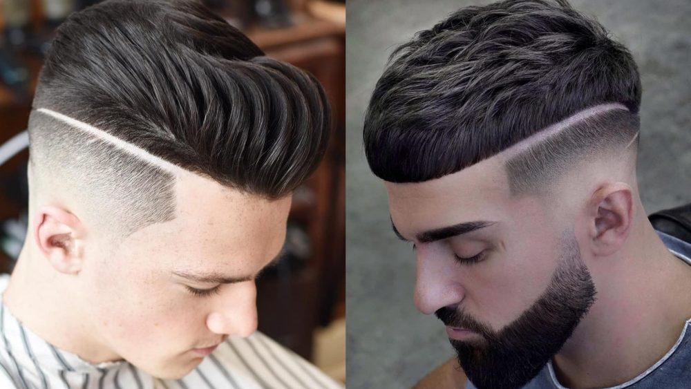 Best Hard Part Haircuts