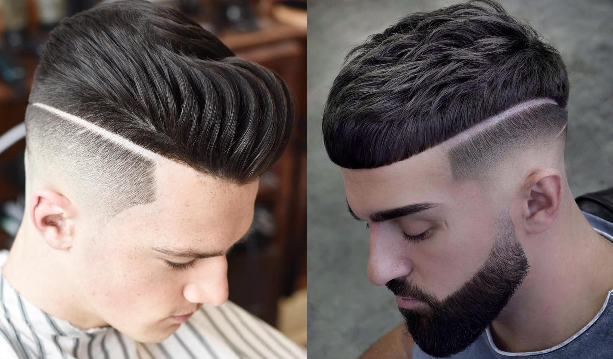 26 Of The Best Hard Part Haircuts For Men Stylesrant