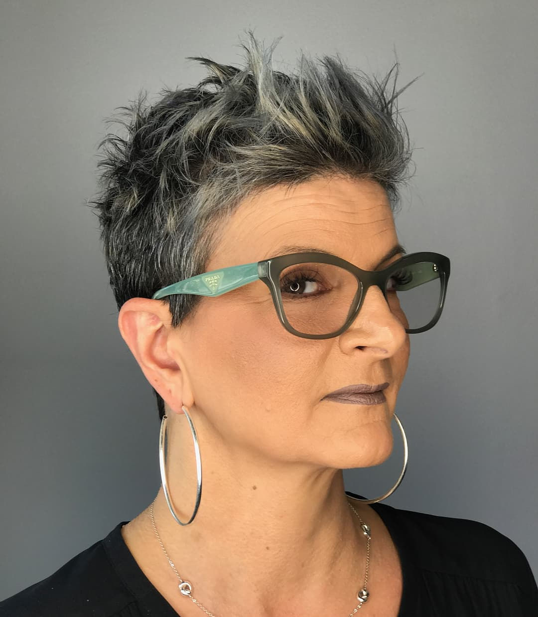 Edgy Pixie For Coarse Hair