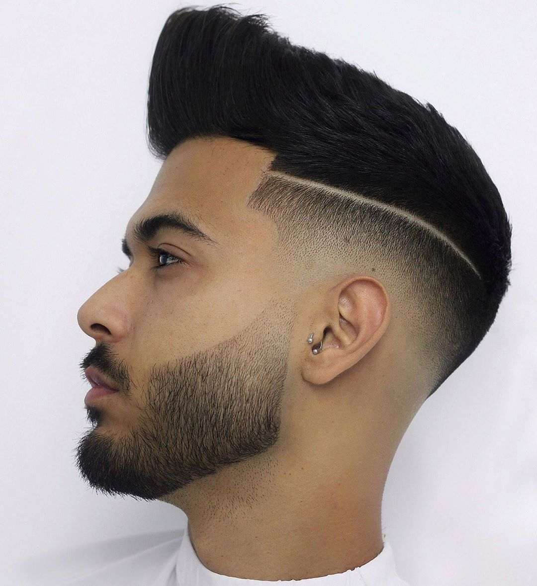 Low Fade + Part