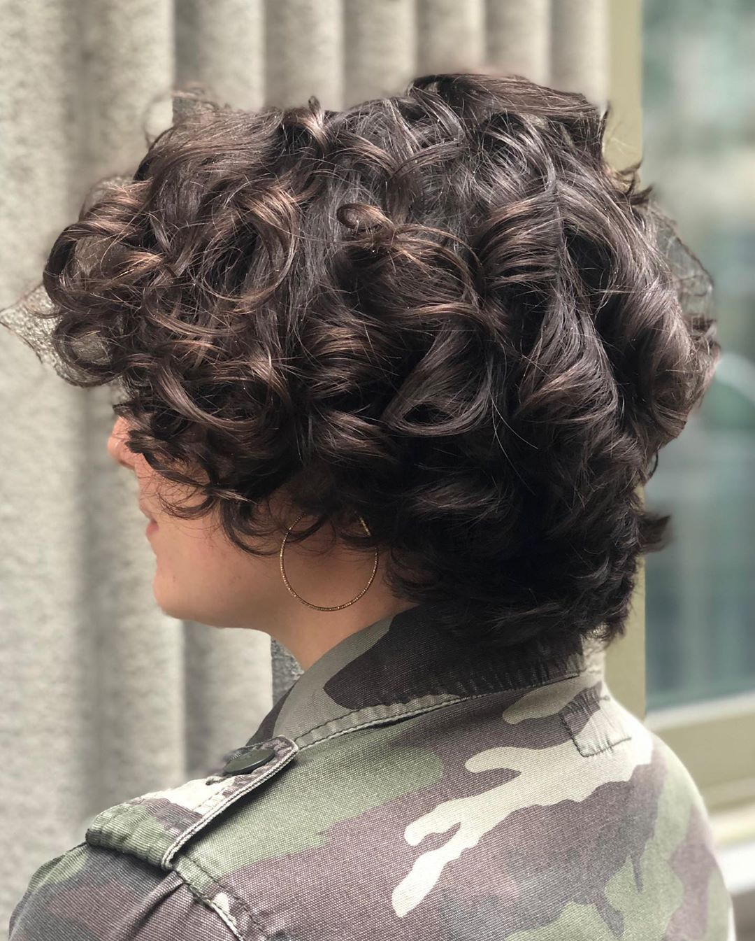 Luscious Curly Pixie