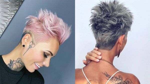 Spiky Haircuts For Woman