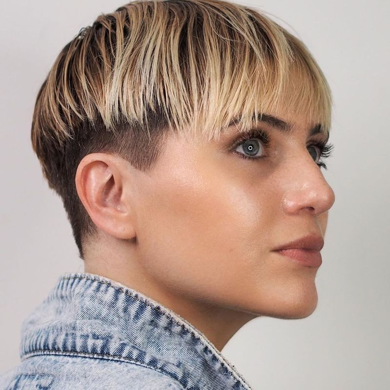 Edgy Bowl Cut