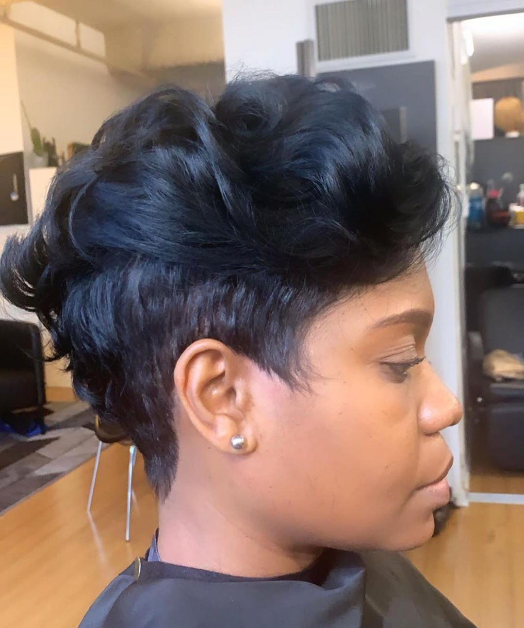 Edgy Relaxed Mohawk