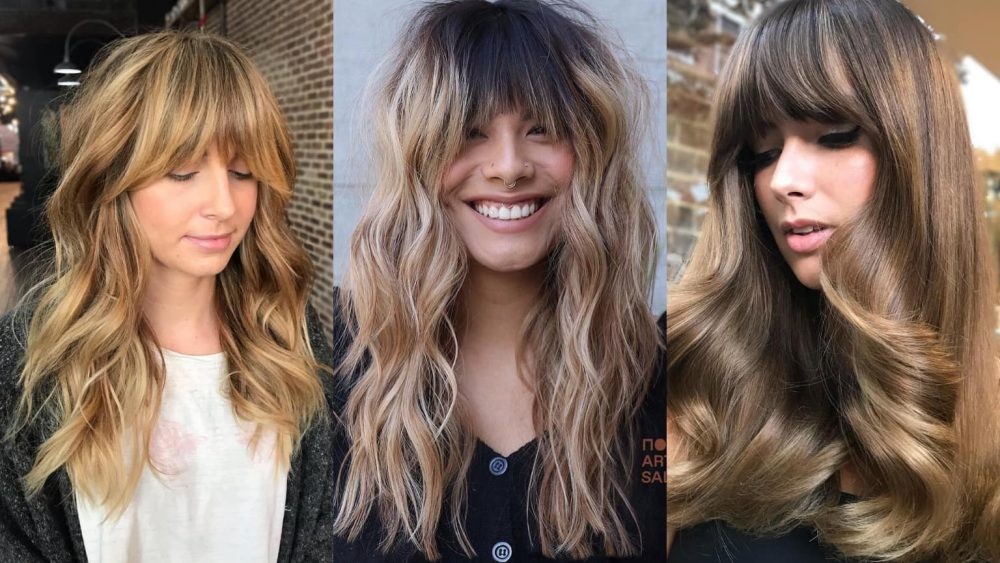Flattering Long Hairstyles With Bangs