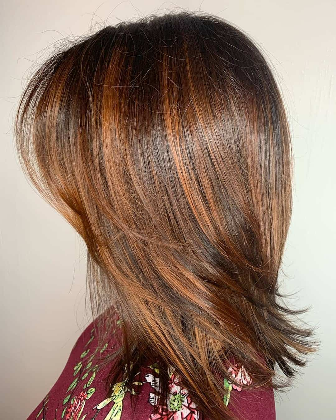 Side Bangs With Seamless Layers