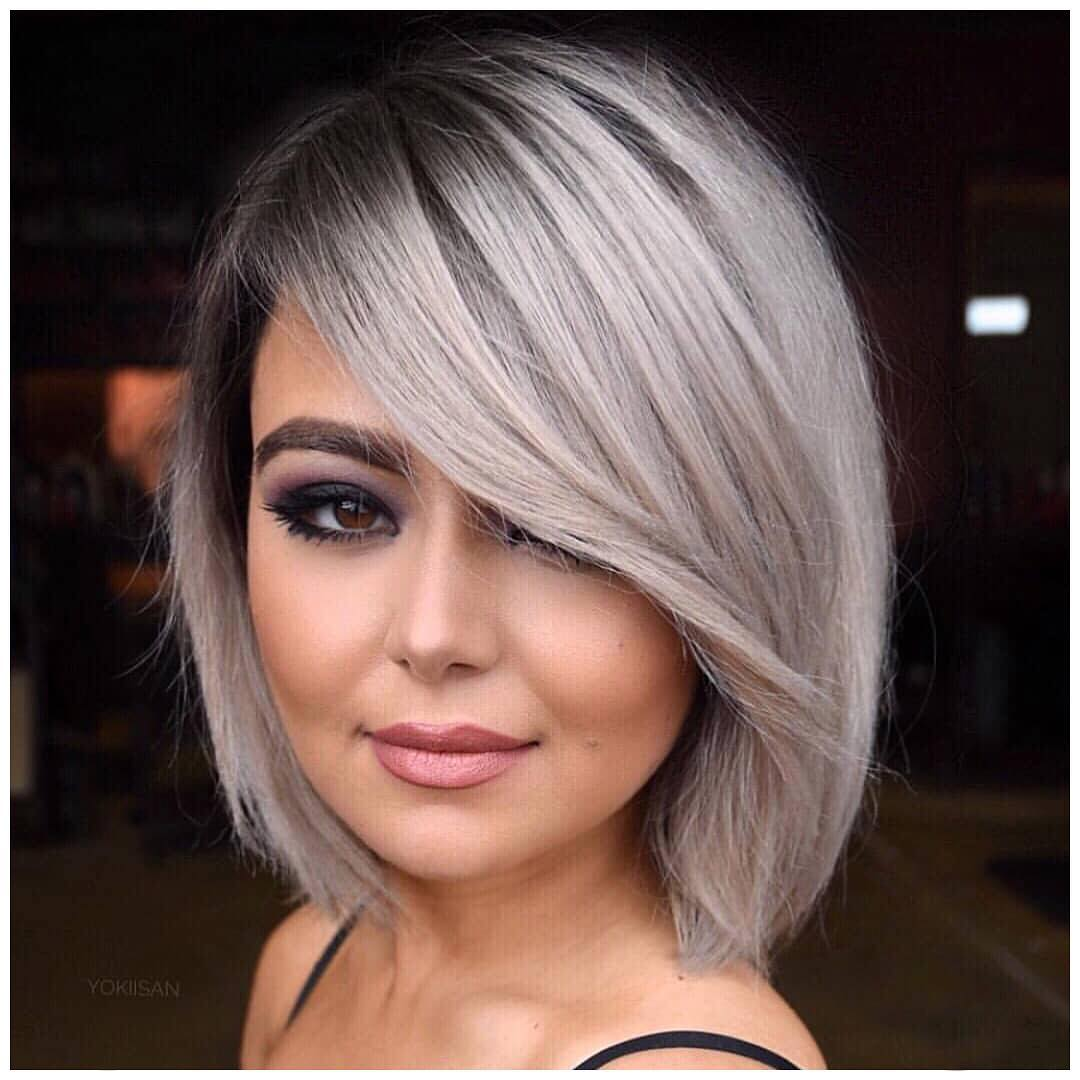 Silver Rounded Bob