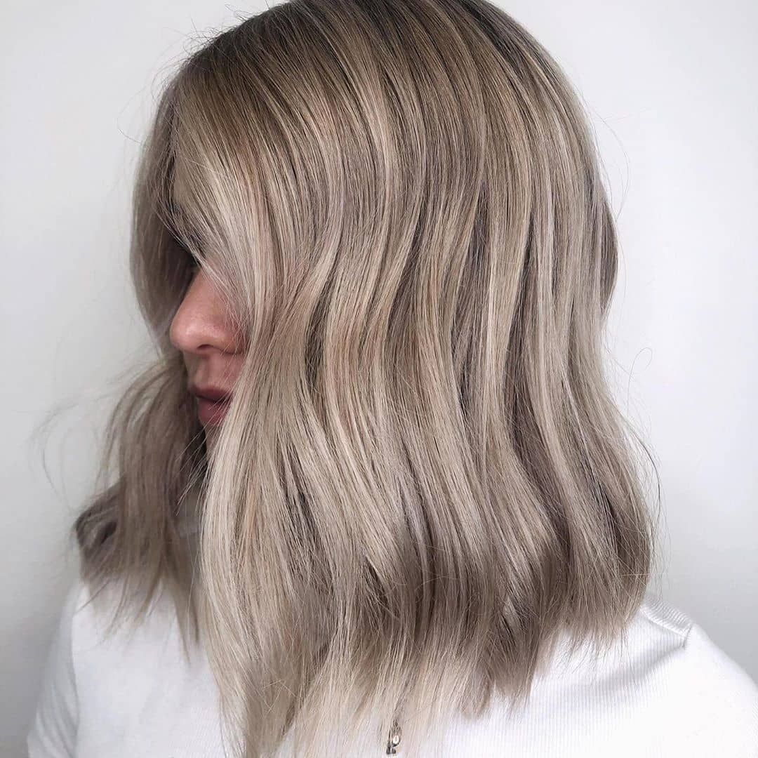 Ultra Soft Waves On Blonde Gray Hair