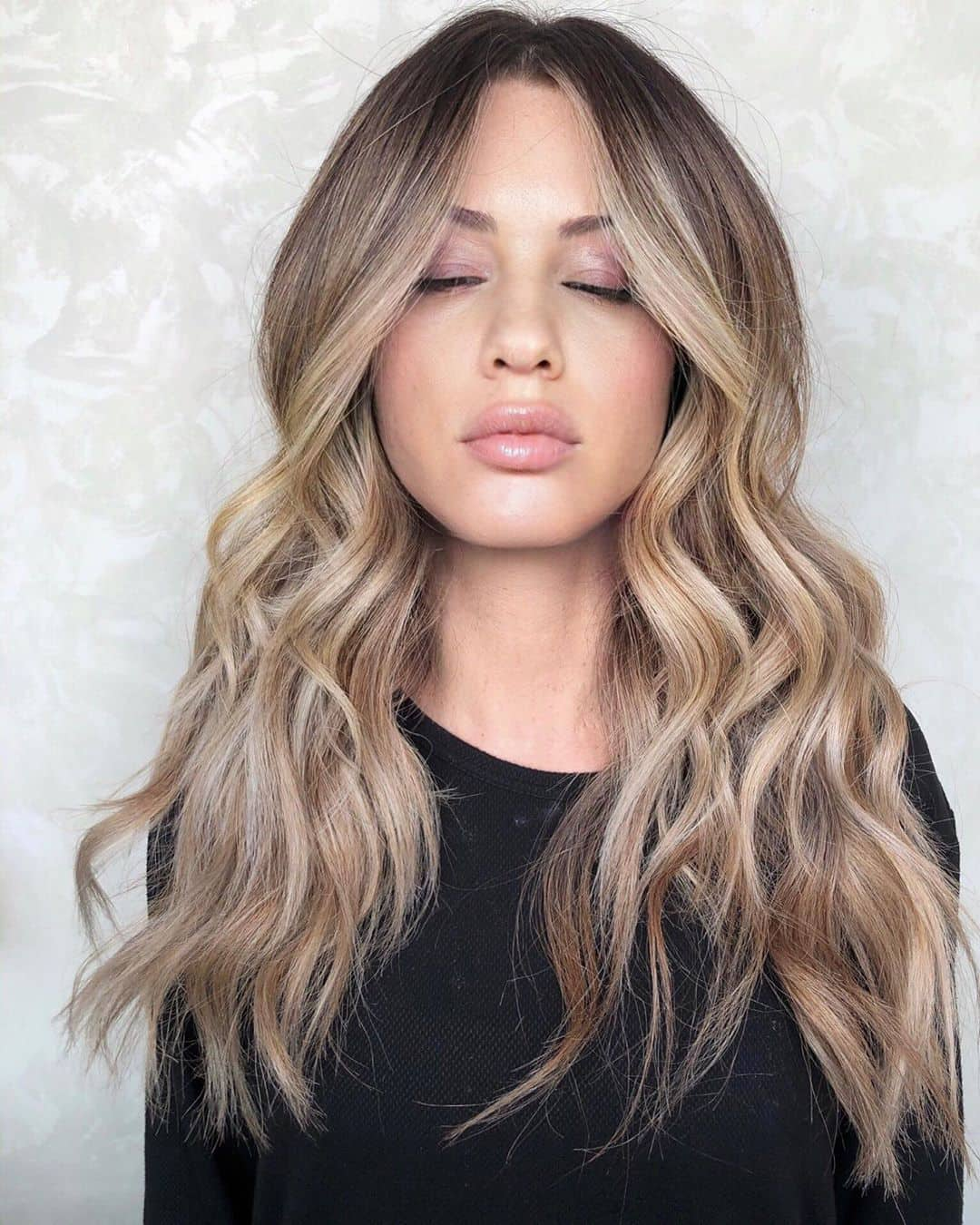 Wintry Blonde Balayage