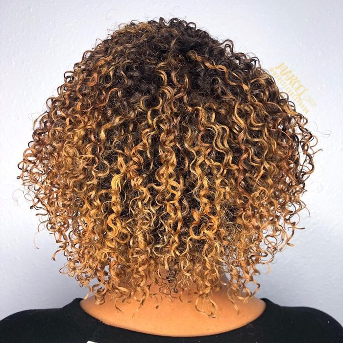 Curly Bob For Thin Hair