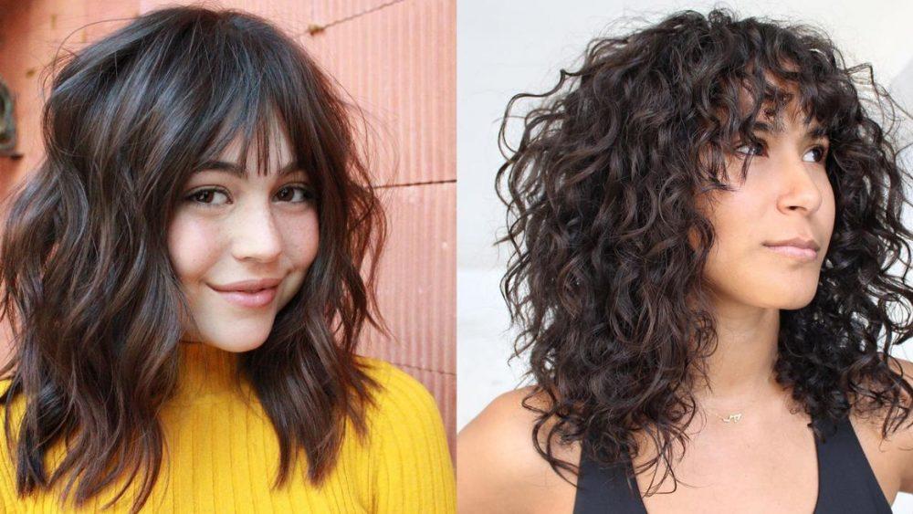 Layered Haircuts With Bangs