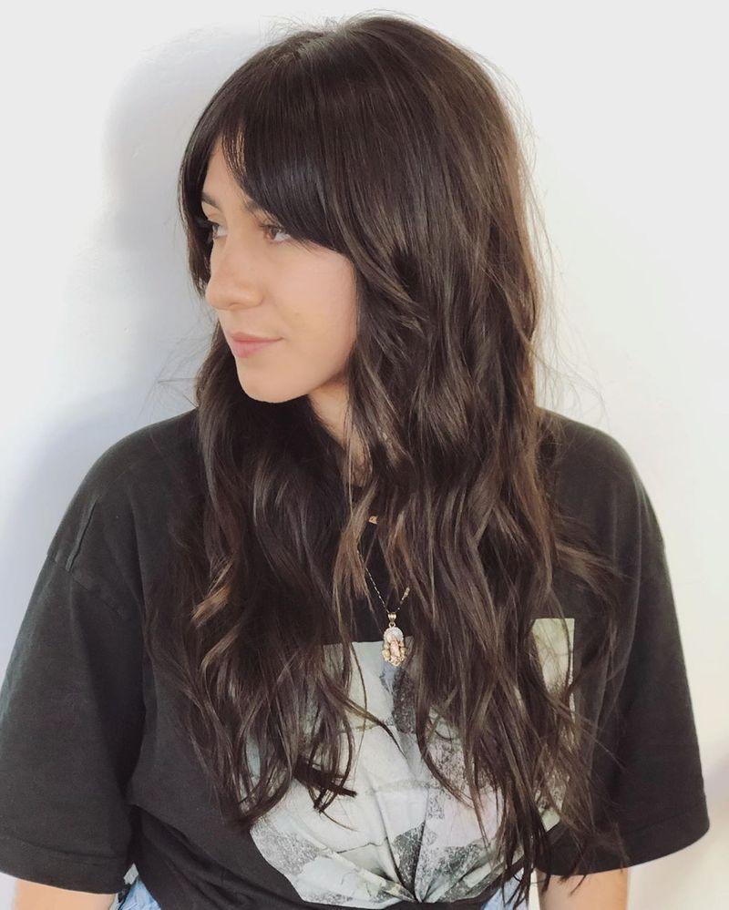 Long Brunette Shag