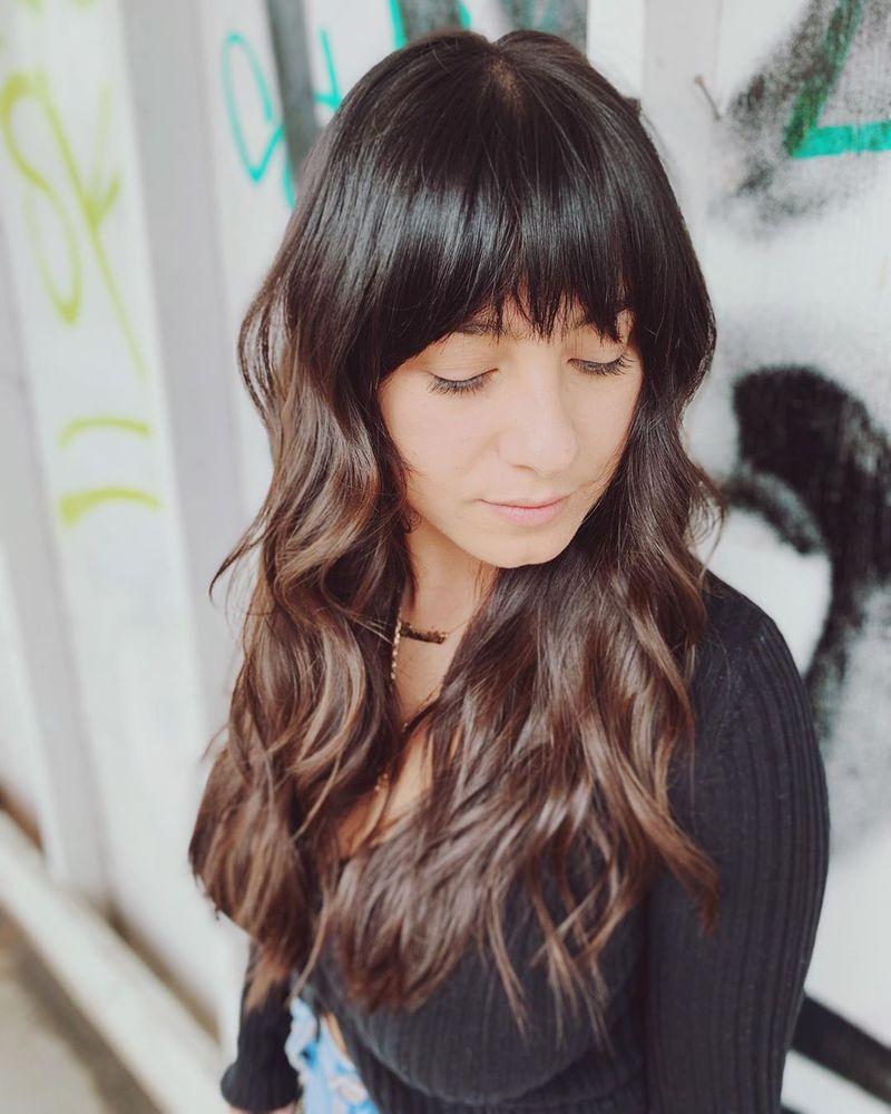 Long Hair + Razor Cut