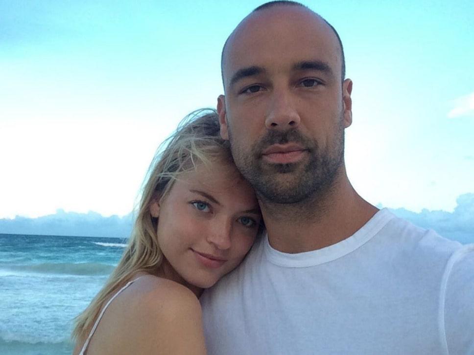 Martha Hunt and Jason McDonald