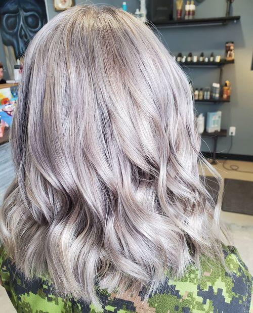 Lavender + Silver Sparkle