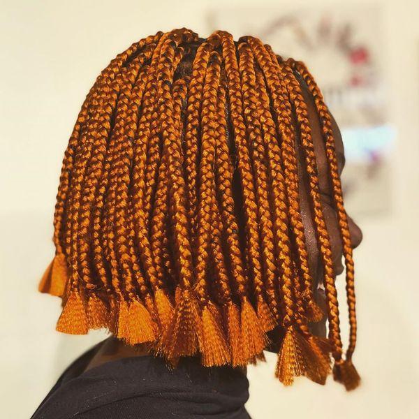 Orange + Tassels