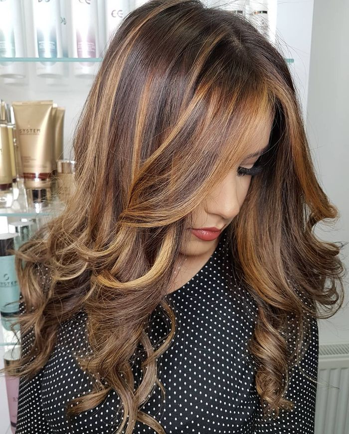 Soft Warm Balayage