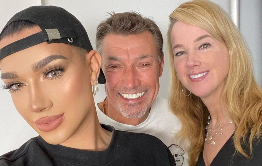 James Charles father and mother