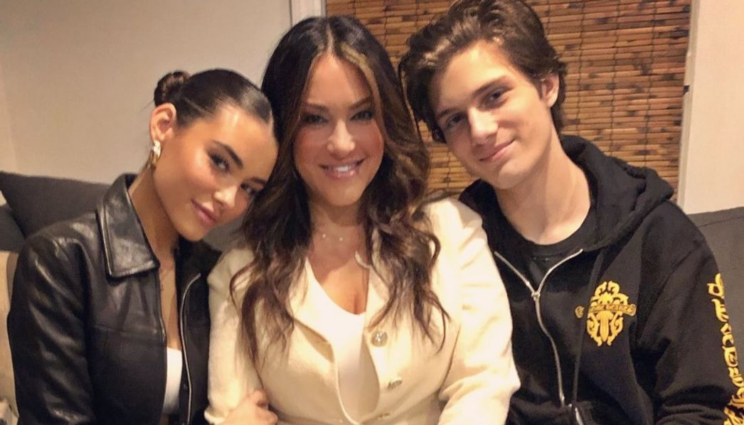Madison Beer's mom and brother