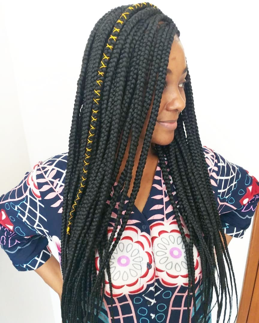 Braids With Accessories
