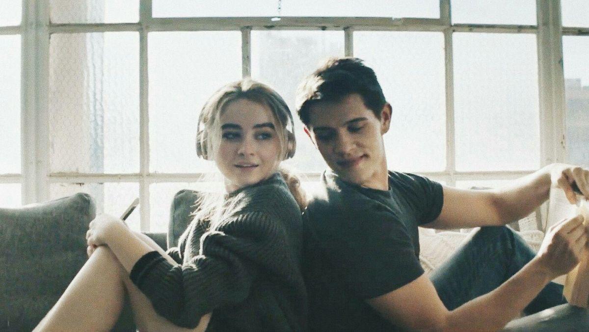 Sabrina Carpenter and Casey Cott