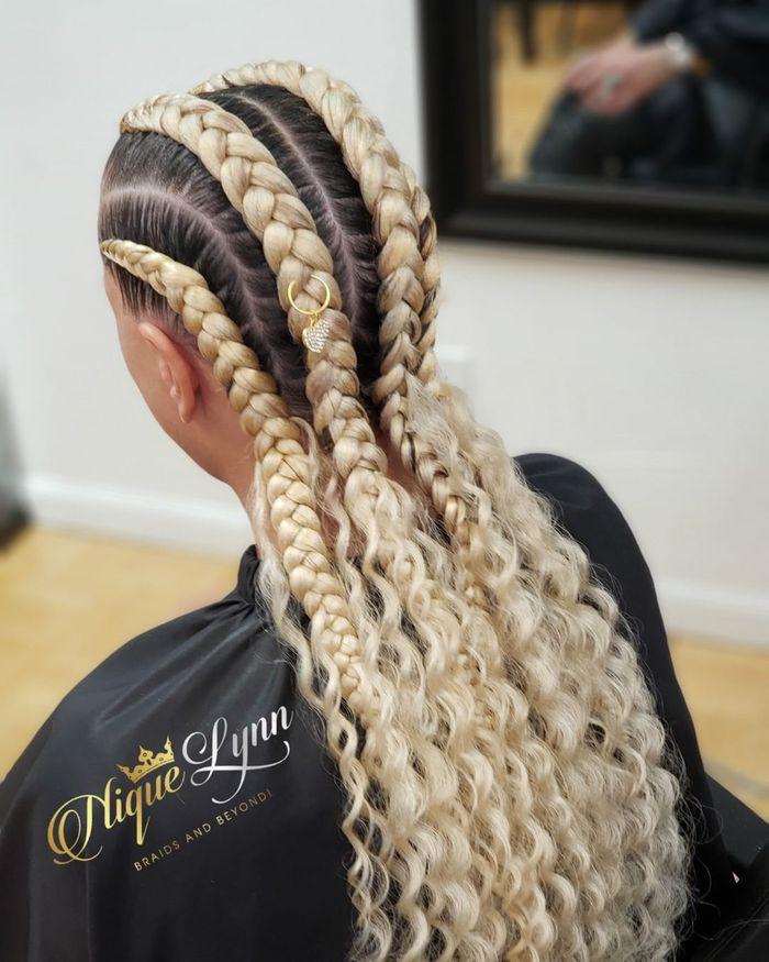 Jumbo Blonde Braids