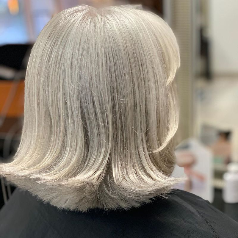 Flipped Out Silver Bob