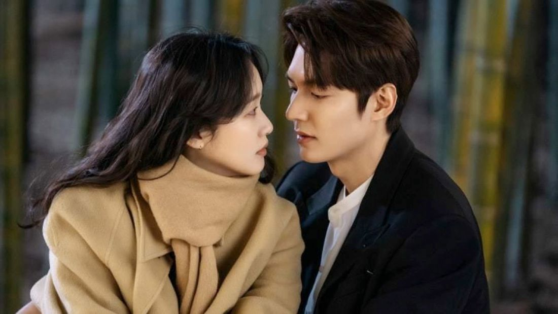 Lee Min-ho and Kim Go-eun