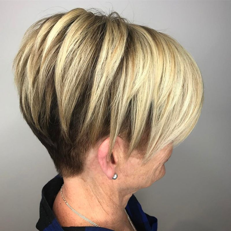Razor Layers With Undercut