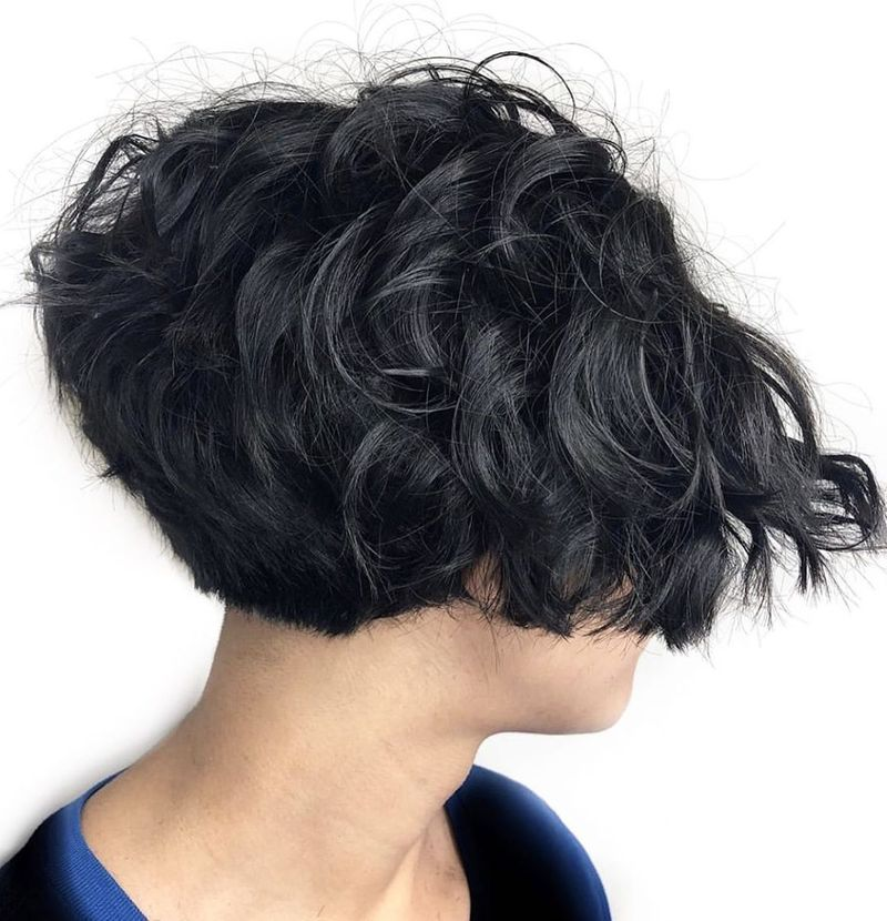 Stacked Pixie For Thick, Coarse Hair