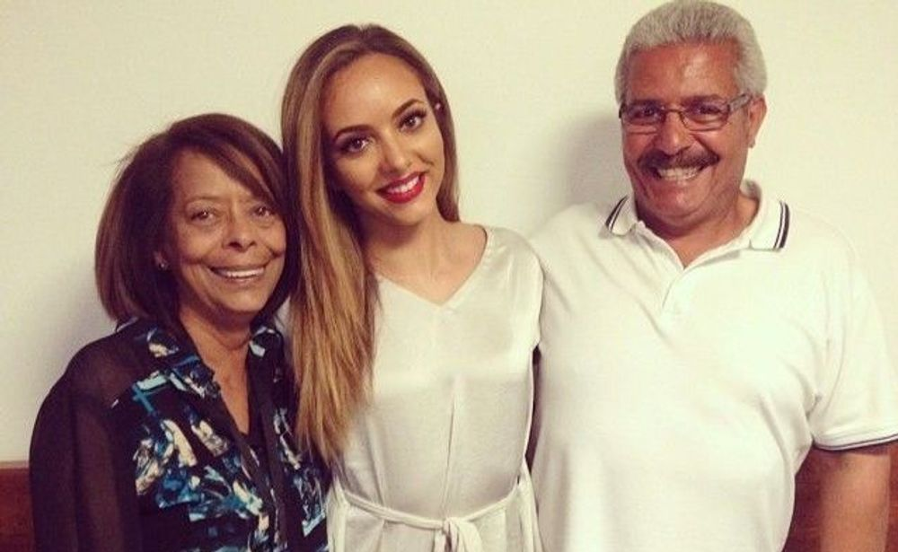 Jade Thirlwall's parents