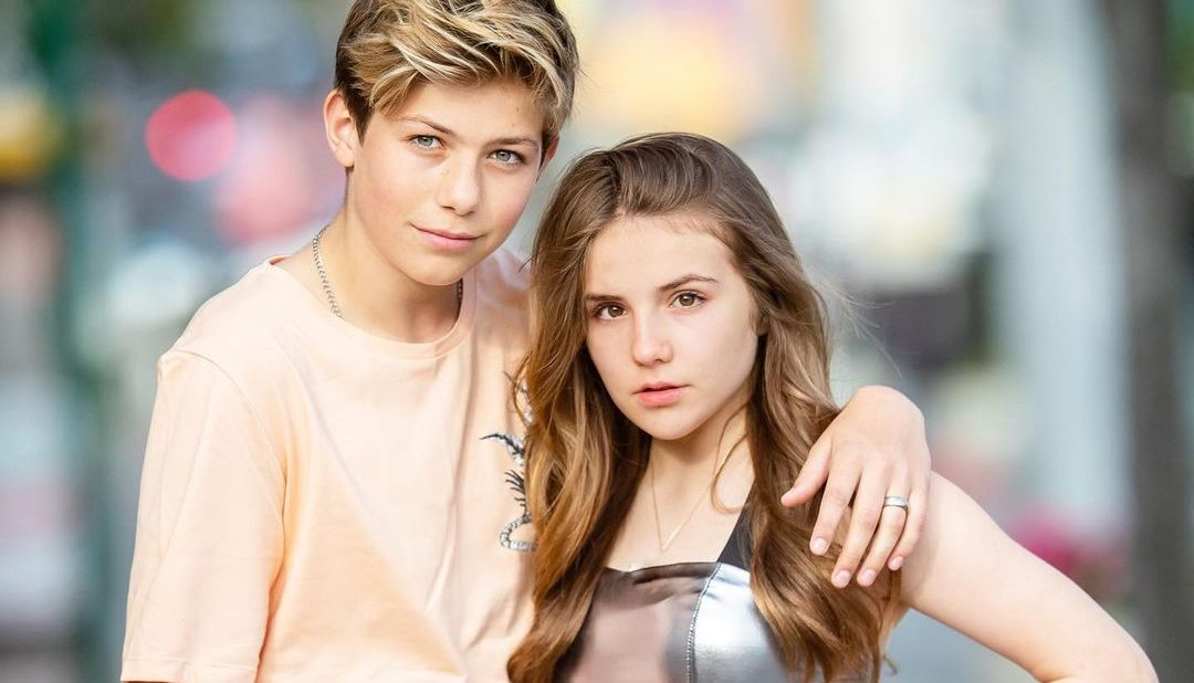 Walker Bryant and Piper Rockelle